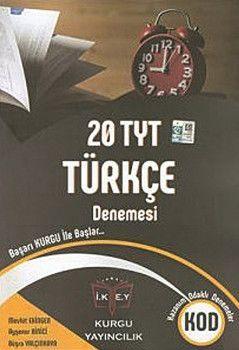 Kurgu Yayınları YKS 1. Oturum TYT Türkçe 2 Deneme