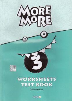 Kurmay ELT 3. Sınıf More More Worksheets Test Book