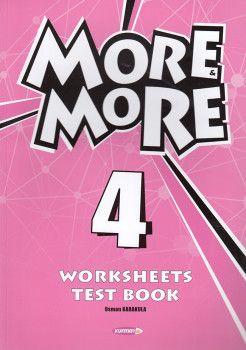 Kurmay ELT 4. Sınıf More More Worksheets Test Book