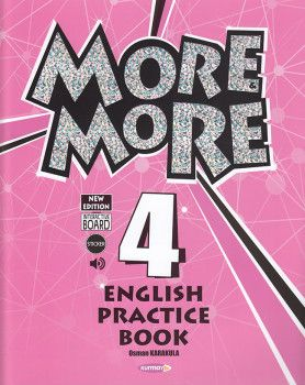 Kurmay ELT 4. Sınıf More More English Pratice Book ve English Work Book