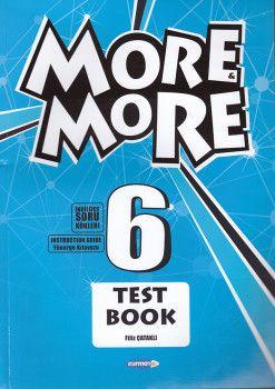 Kurmay ELT 6. Sınıf More More English Test Book