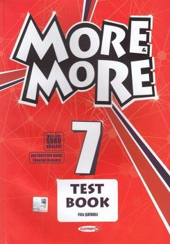 Kurmay ELT 7. Sınıf More More English Test Book