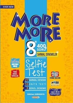 Kurmay ELT 8. Sınıf More More English Selfie Test