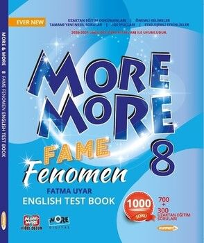 Kurmay ELT 8. Sınıf More More English Fame Fenomen Testbook