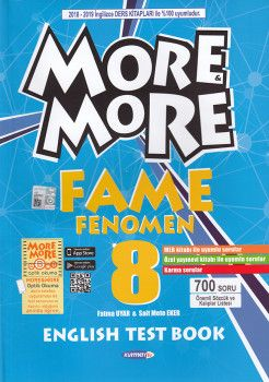 Kurmay ELT 8. Sınıf More More English Fame Fenomen Test Book