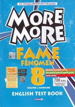 Kurmay ELT 8. Sınıf More More English Fame Fenomen Test Book