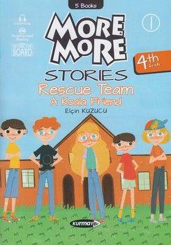 Kurmay ELT Yayınları 4. Sınıf More More Stories Hikaye Seti