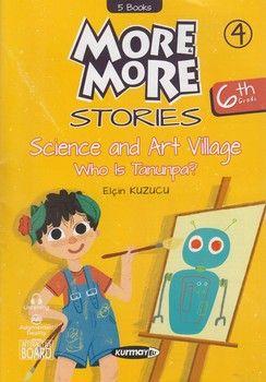 Kurmay ELT Yayınları 6. Sınıf More More Stories Hikaye Seti