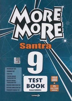 Kurmay ELT Yayınları 9. Sınıf More More Santra Test Book