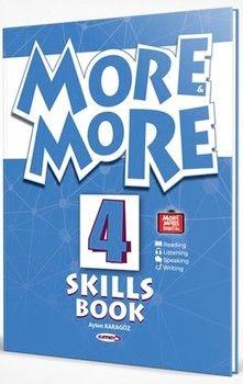 Kurmay ELT Yayınları More More English Skills Book 4