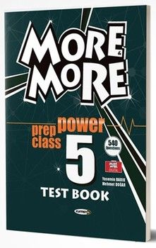Kurmay ELT Yayınları 5. Sınıf More More English Prep Class Power Test Book