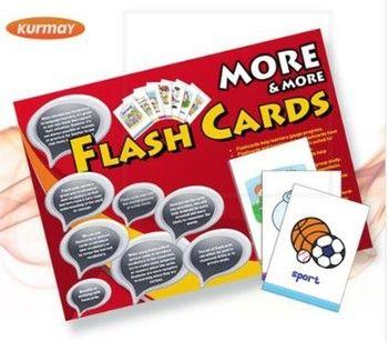 Kurmay ELT Yayınları New More More Flash Cards