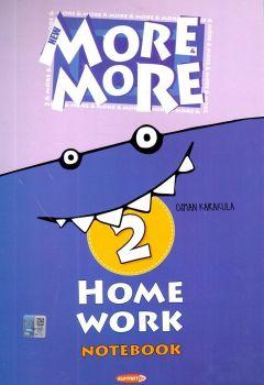 Kurmay Yayınları 2. Sınıf New More Home Work Notebook