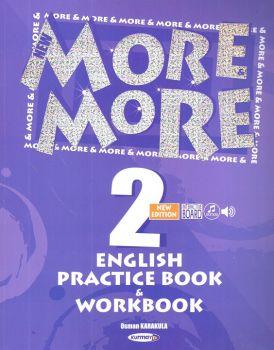 Kurmay Yayınları 2. Sınıf New More English Practice Book ve Workbook