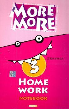 Kurmay Yayınları 3. Sınıf New More Home Work Notebook