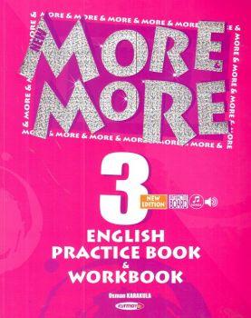 Kurmay Yayınları 3. Sınıf New More English Practice Book ve Workbook