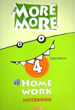 Kurmay Yayınları 4. Sınıf New More Home Work Notebook