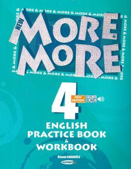 Kurmay Yayınları 4. Sınıf New More English Practice Book ve Workbook