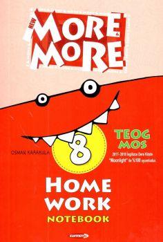 Kurmay Yayınları 8. Sınıf New More Home Work Notebook