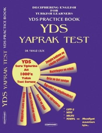 Kurmay Yayınları YDS Yaprak Test