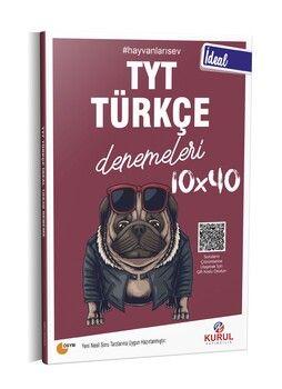 Kurul Yayıncılık TYT Türkçe İdeal 10 x 40 Denemeleri