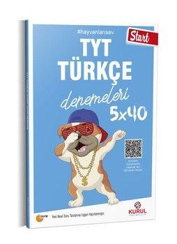 Kurul Yayıncılık TYT Türkçe Start 5 x 40 Denemeleri