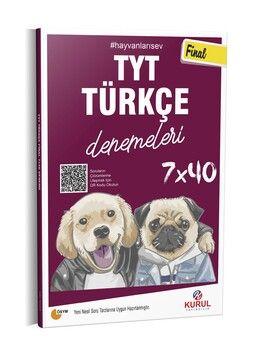 Kurul Yayıncılık Kurul TYT Türkçe Final 7 x 40 Denemeleri