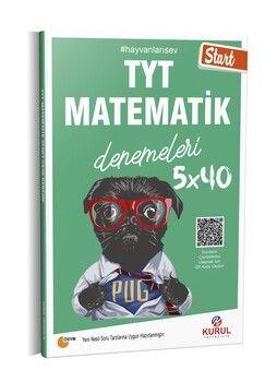 Kurul Yayıncılık TYT Matematik Start 5 x 40 Denemeleri