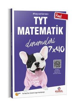 Kurul Yayıncılık TYT Matematik Final 7 x 40 Denemeleri