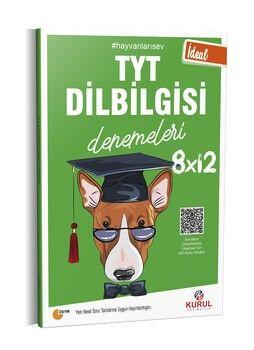 Kurul Yayıncılık TYT Dil Bilgisi İdeal 8 x 12 Denemeleri