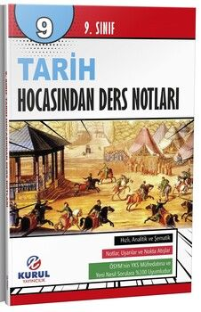 Kurul Yayıncılık 9. Sınıf Tarih Hocasından Ders Notları