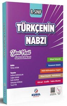 Kurul Yayıncılık 8. Sınıf Türkçenin Nabzı Yeni Nesil Soru Bankası