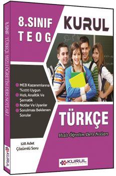 Kurul Yayınları 8. Sınıf TEOG Türkçe Hızlı Öğretim Ders Notları