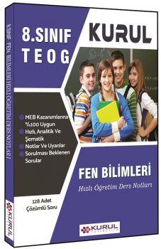 Kurul Yayınları 8. Sınıf TEOG Fen Bilimleri Hızlı Öğretim Ders Notları