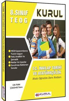 Kurul Yayınları 8. Sınıf TEOG T.C. İnkılap Tarihi ve Atatürkçülük Hızlı Öğretim Ders Notları