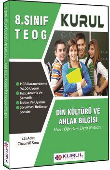 Kurul Yayınları 8. Sınıf TEOG Din Kültürü ve Ahlak Bilgisi Hızlı Öğretim Ders Notları