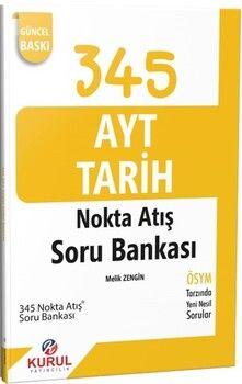 Kurul Yayınları AYT Tarih Nokta Atışı Soru Bankası