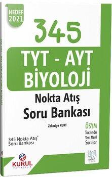 Kurul Yayınları TYT AYT Biyoloji Nokta Atış Soru Bankası