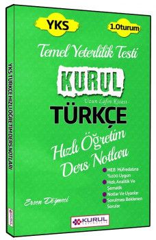Kurul Yayınları YKS 1. Oturum TYT Türkçe Hızlı Öğretim Ders Notları