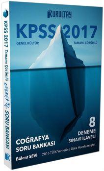 Kurultay 2017 KPSS Genel Kültür Coğrafya Soru Bankası Tamamı Çözümlü 8 Deneme İlaveli