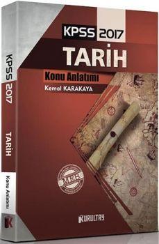 Kurultay Yayınları KPSS 2017 Tarih Konu Anlatımlı Kemal KARAKAYA