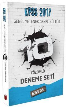 Kurultay Yayınları 2017 KPSS Genel Yetenek Genel Kültür 10 Çözümlü Fasikül Deneme