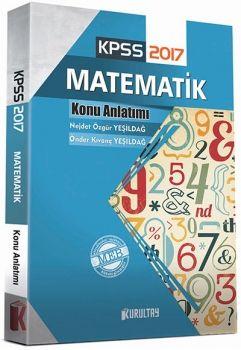 Kurultay Yayınları 2017 KPSS Matematik Konu Anlatımı
