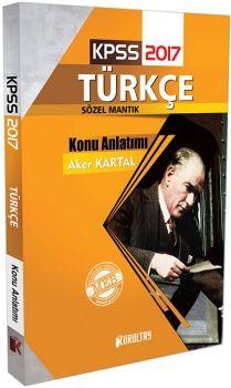 Kurultay Yayınları 2017 KPSS Türkçe Sözel Mantık Konu Anlatımı