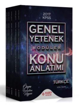 Kuzey Akademi 2017 Genel Kültür Genel Yetenek Konu Anlatımlı Modüller Set