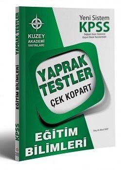Kuzey Akademi Yayınları 2017 KPSS Eğitim Bilimleri Çek Kopart Yaprak Test