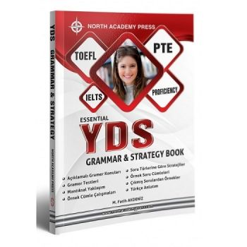 Kuzey Akademi Yayınları 2017 YDS Essential Gramer , Strategy Book