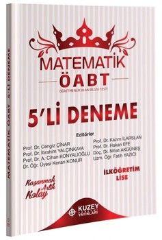 Kuzey Akademi Yayınları ÖABT İlköğretim Lise Matematik 5 li Deneme
