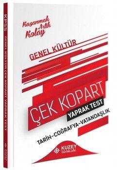 Kuzey Akademi Yayınları 2021 KPSS Genel Kültür Yaprak Test Çek Kopart