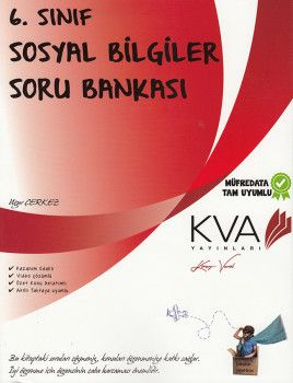 KVA Yayınları 6. Sınıf Sosyal Bilgiler Soru Bankası